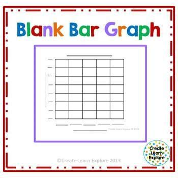 blank bar graph freebie 1st grade pinterest free