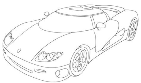 Disney 01 Cars Regular Puzzle koenigsegg cs8s coloring page free printable coloring pages