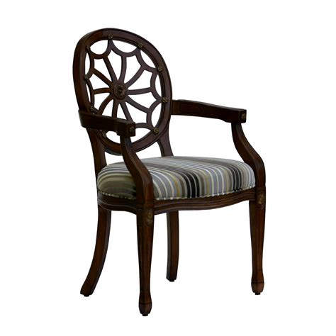 roxbury spider back arm chair at hayneedle - Spider Chair