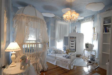 furniture beautiful blue baby bedroom interior nursery