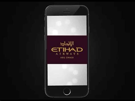 airways mobile etihad airways mobile app launched