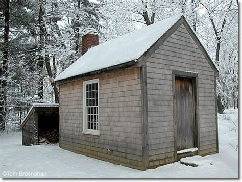 Walden House by Walden Pond In Winter Thoreau S House