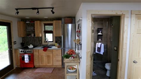 Tiny House Kitchen Cabinets 10 Tiny Kitchens In Tiny Houses That Are Adorably Functional