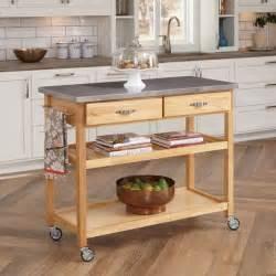 wood kitchen island cart kitchen island cart wood storage cabinet rolling breakfast