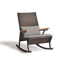 modern outdoor chairs vieques modern outdoor rocking chair