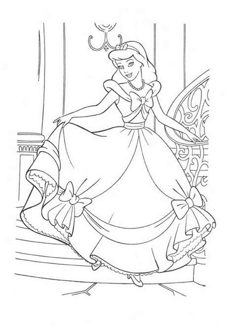 cinderella ballet coloring pages princess coloring pages