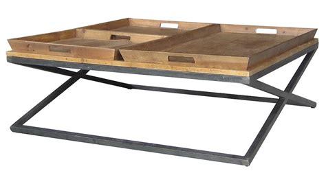 hands irondale jax square coffee table unique