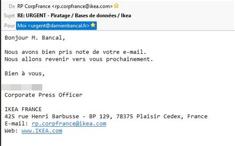ikea mail zataz piratage informatique chez ikea fuite possible