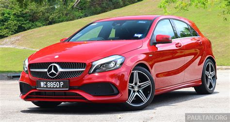 sport mercedes driven mercedes a250 sport facelift in malaysia