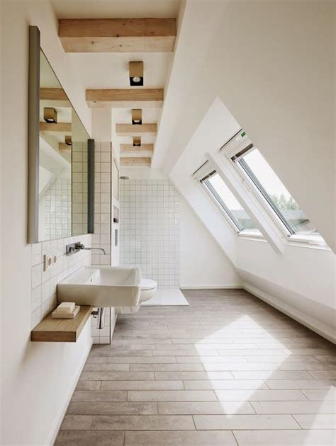 Bathroom In Attic Space by 15 Attics Turned Into Breathtaking Bathrooms