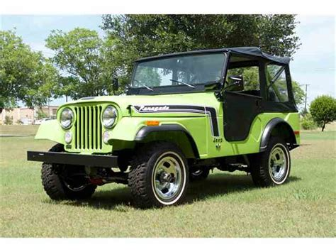 1974 jeep for sale classic jeep cj5 for sale on classiccars 38 available