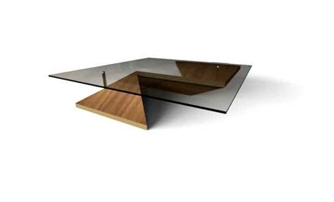 Modern Glass Coffee Table Designs Origami Table