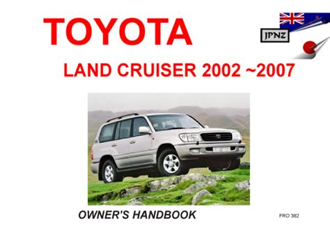 free online car repair manuals download 2002 land rover discovery series ii engine control service manual free auto repair manuals 2007 toyota land cruiser user handbook free download