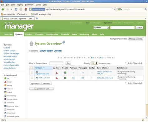 tutorial linux server administration how to use suse manager for multiplatform linux server