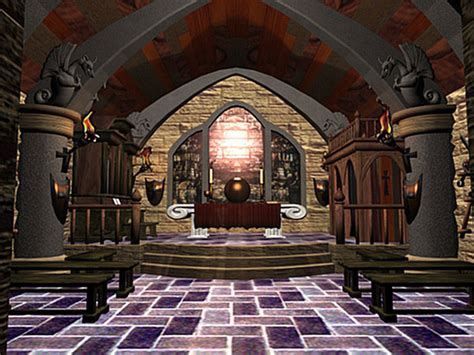 Adobe House Plans by Fantasy Castle Interior Gothic Medieval Palace 3ds 3d