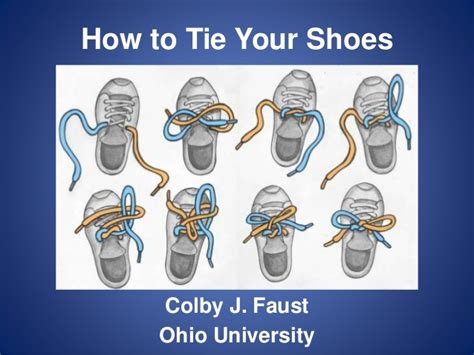 how to tie your shoes for cia4 colby faust how to tie your shoes comm