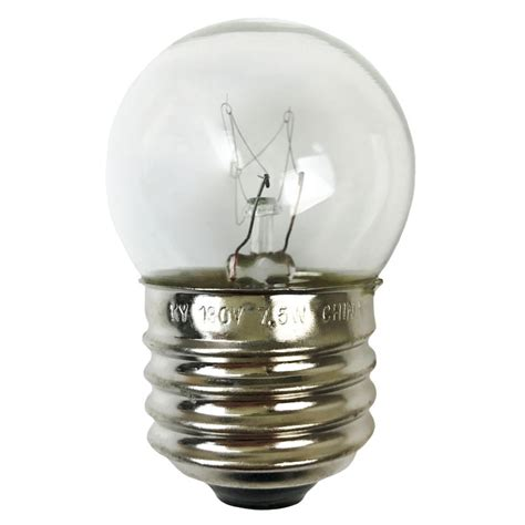 medium base string lights clear s11 medium base linear string light bulb