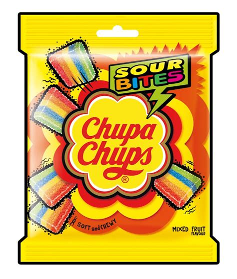 Chupa Chups Sour Belt Chupa Chups Sour Belt And Sour Bites Introduced By
