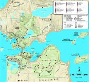 Deception Pass State Park Map by Deception Pass Park Map Deception Pass Park Foundation