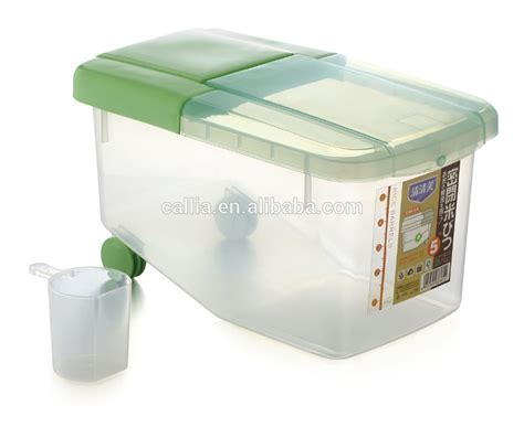 Dispenser Rice plastic rice food container rice box rice dispenser
