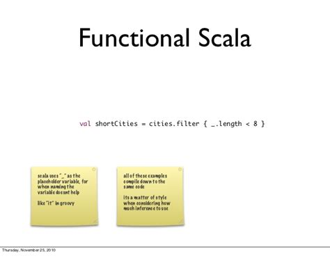 scala for java programmers introduction to scala for java programmers
