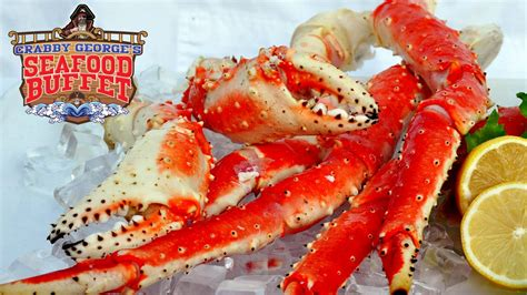 crabby george s seafood buffet myrtle beach sc youtube