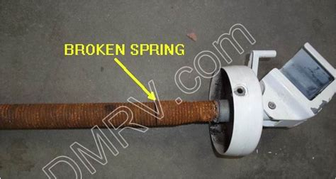 carefree of colorado awning springs carefree front spring assm reg white 26 2084 r00925wht