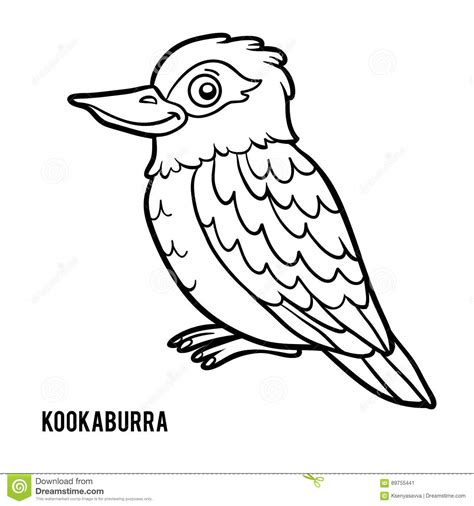 kookaburra coloring page free coloring book kookaburra stock vector image of laughing