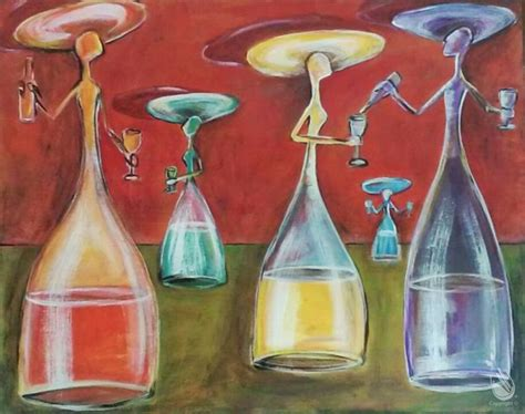 paint with a twist wine glass wine glass saturday january 30 2016 painting