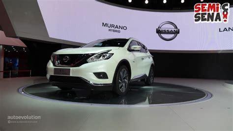 Terbaru Resmi Nissan Murano Terbaru Resmi Dirilis Di Sas 2015
