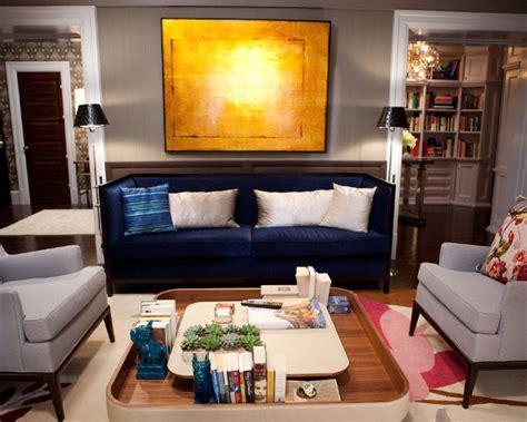midnight blue living room blue velvet sofa contemporary living room marks frantz