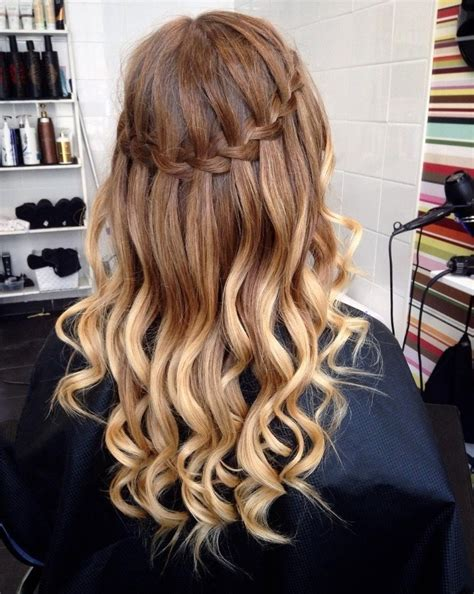 hairstyles how to do a waterfall waterfall hairstyles hair