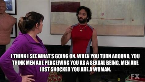 The League Memes - shocked you are a woman rafi quotes