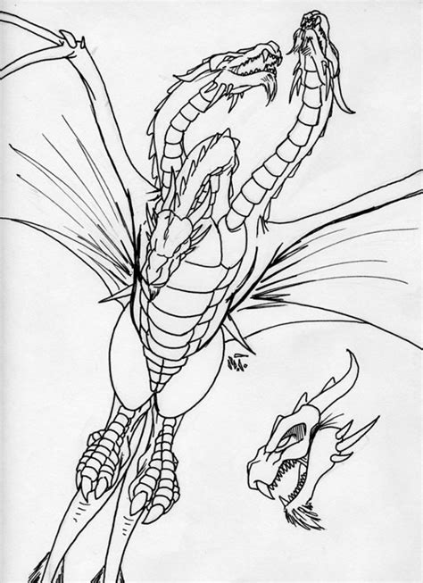 king ghidorah coloring page king ghidorah by mjtannacore on deviantart