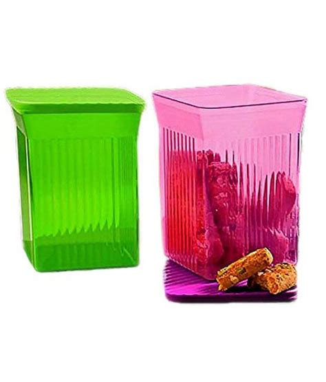 Tupperware Family Mate tupperware family mate square set of 2 800 ml each buy at best price in india snapdeal