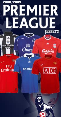 football shirts and football kits: widest selection