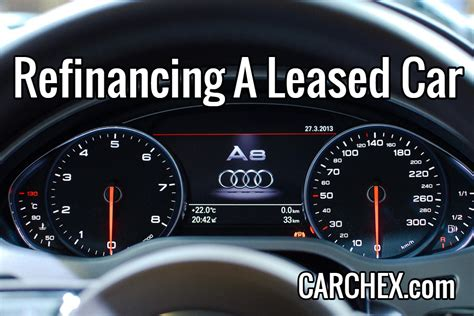 refinancing  leased car