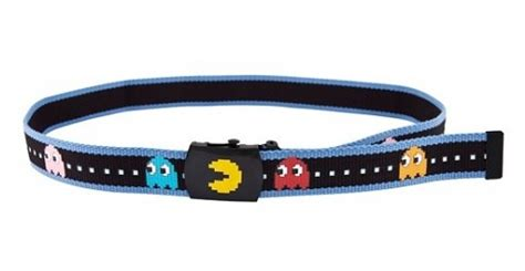 Pacman Belt From Truffleshuffle by 21 Things Every Retro Gamer Needs In Their