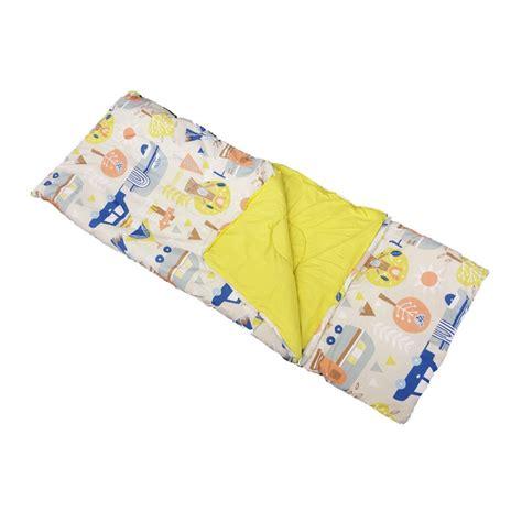 childrens sleeping bag with pillow lets c caravan