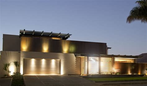 exterior home lighting design beautiful houses aboo makhado in limpopo