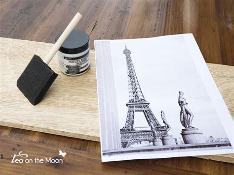 transferir imagenes con latex transferir una fotograf 237 a a madera o lienzo una forma