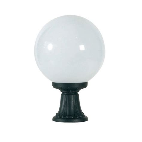 Fumagalli G30 111 Ay Globe 300 445mm Black Pedestal Light Fumagalli Outdoor Lighting