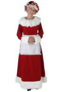 womens mrs claus deluxe costume womens christmas costumes