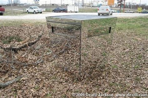 Bow Hunting Blind Plans Cool Deer Stands Duck Duck Gray Duck