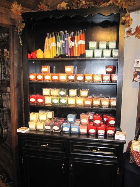Candle Display Candles At Brazos De Dios Welcome To The Candle Shop