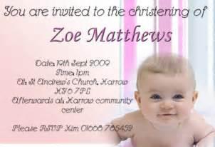 christening invitation cards christening invitation