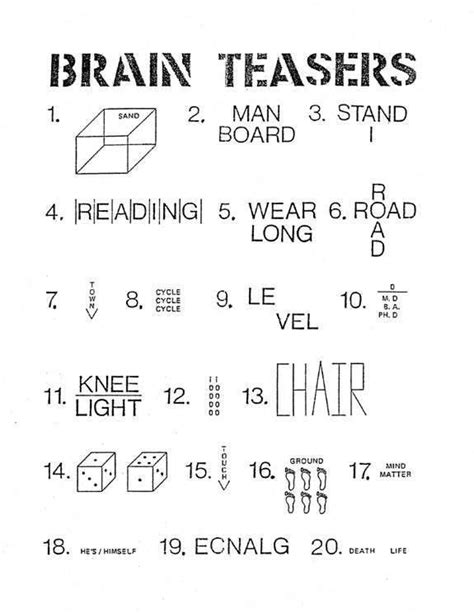 printable logic puzzles brain teasers printable puzzles for adults you discern the well