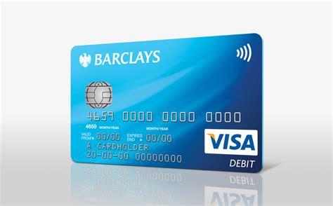Barclays Debit Card Design