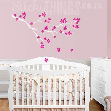 Wall Stickers Cherry Blossom cherry blossom branch wall sticker stickythings co za