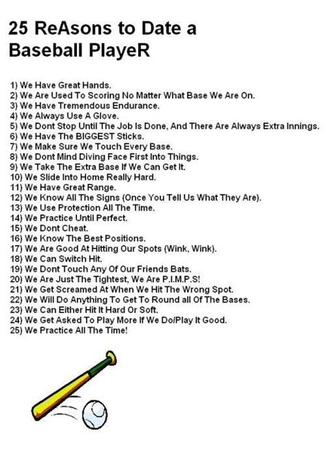 8 Reasons To Date A Than You by Baseball Quotes Softball It S More Than A